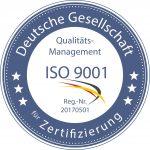 WInterdienst Potsdam mit geprüfter Qualität: Zertifizierung für Qualitätsmanagement, Bereich Winterdienst