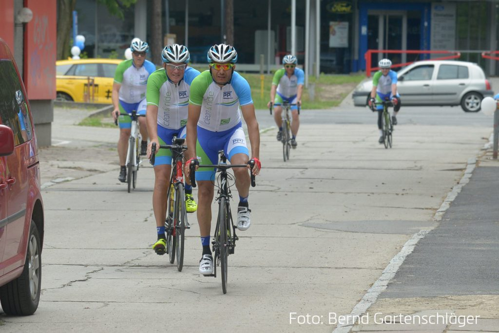 CLean and ride - Fahrradtour der PPT Gruppe